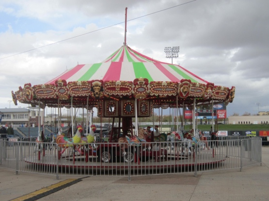 The merry-go-round at the Royals' Spring Training home in Surprise, Ariz.