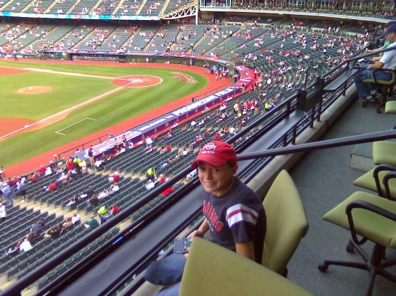 Double lung transplant recipient at a Tribe game before her illness