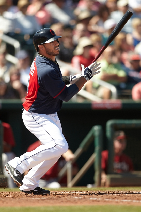 Mike Aviles went 3-3 today and drove in 1 run.
