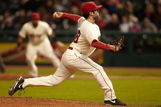 TJ House makes his MLB debut on Saturday night.