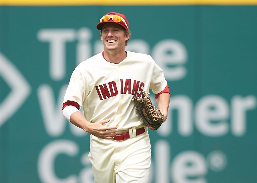 Get To Know: Indians outfielder Tyler Holt (first in a ...