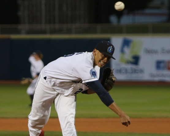 Lake County Captains pitcher Justin Brantley (Tim Phillis photo)