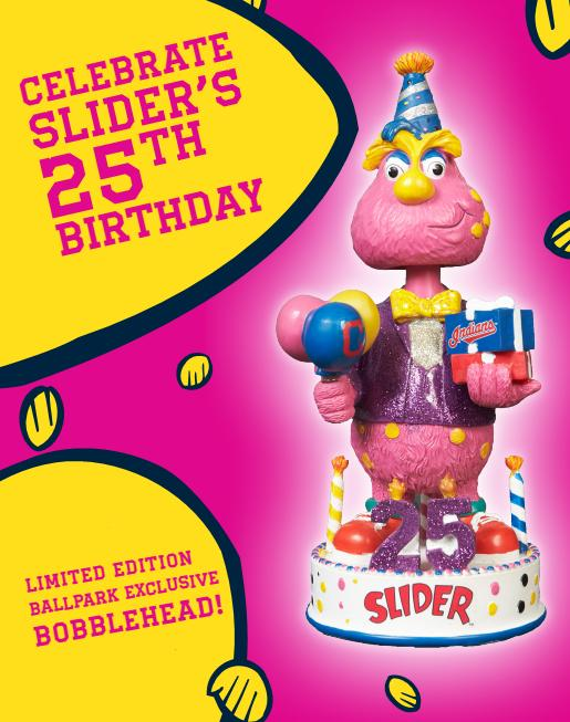 Slider Birthday bobblehead
