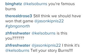 Friends of Burns commenting