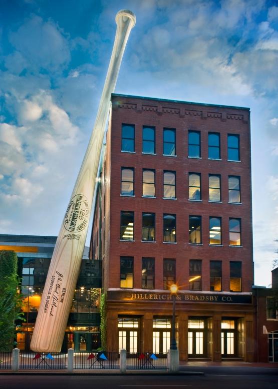 52394 Louisville Slugger Museum & Factory Facade