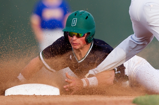 Ohio Bobcats outfielder Mitch Longo (10) (Calvin Mattheis | Ohio Athletics)